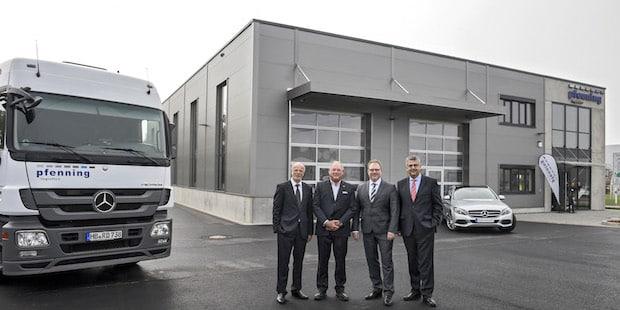 Bild von pfenning logistics eröffnet neues Versorgungszentrum für Automobilindustrie