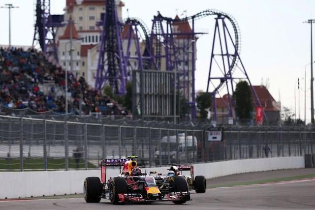 Bild von Renault Pilot Daniil Kvyat erobert bei seinem Heimrennen Platz fünf