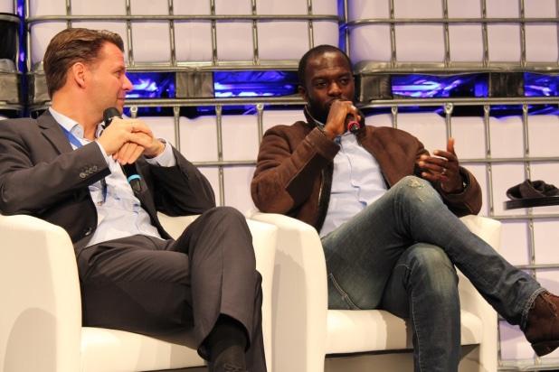 Hans Sarpei investiert als Ex-Fußballprofi auch in Startup-Unternehmen. Foto: Sven Oliver Rüsche (sor).