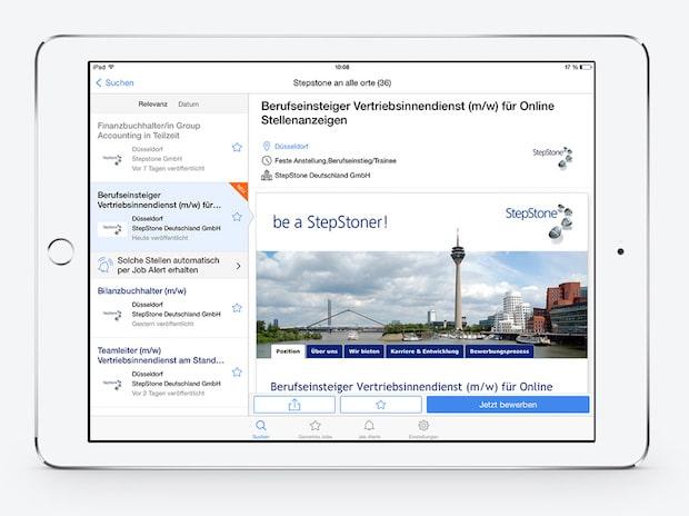 Photo of StepStone App ermöglicht schnelle und einfache Jobsuche und Bewerbung