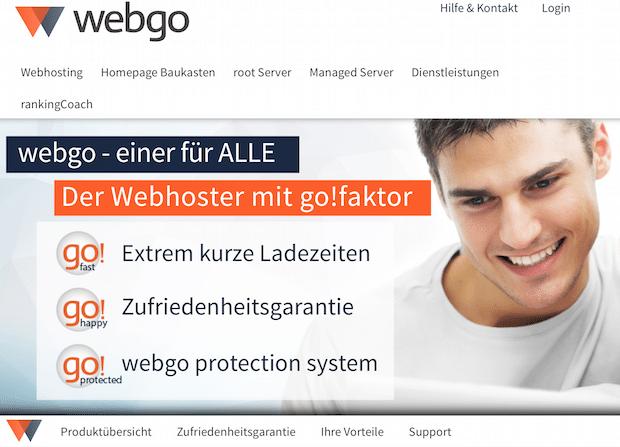 Bild von Mit neuem Namen und neuem Design greift webgo im Premium-Segment an