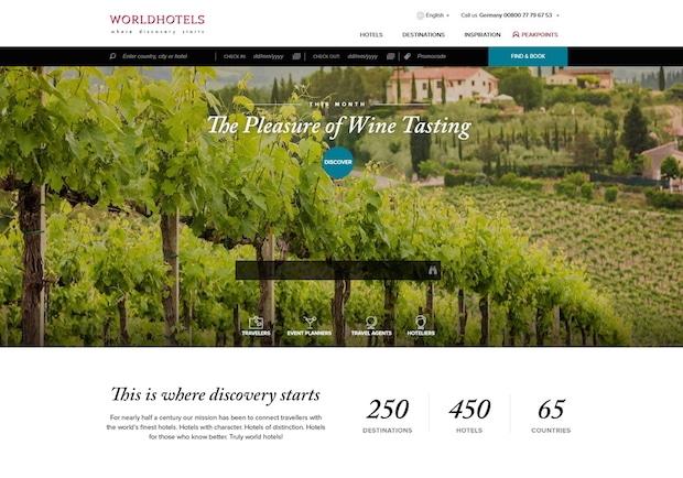 Photo of Worldhotels enthüllt neuen Online-Auftritt