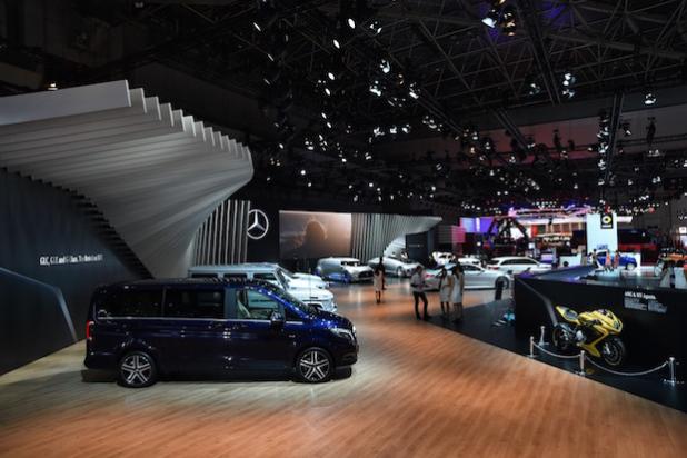 Die neue Mercedes-Benz V-Klasse auf der Tokyo Motor Show 2015 - Quelle: Daimler AG