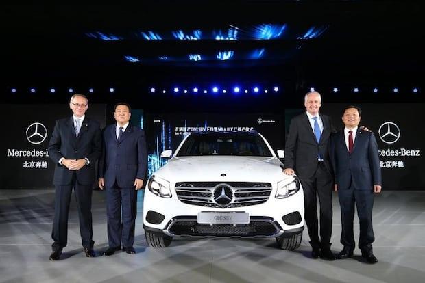 Photo of Produktionsstart des neuen GLC in China