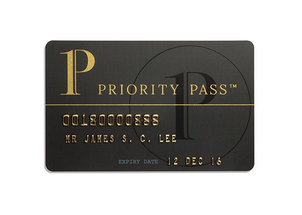 Priority Pass Karte. Quelle: Priority Pass 2015