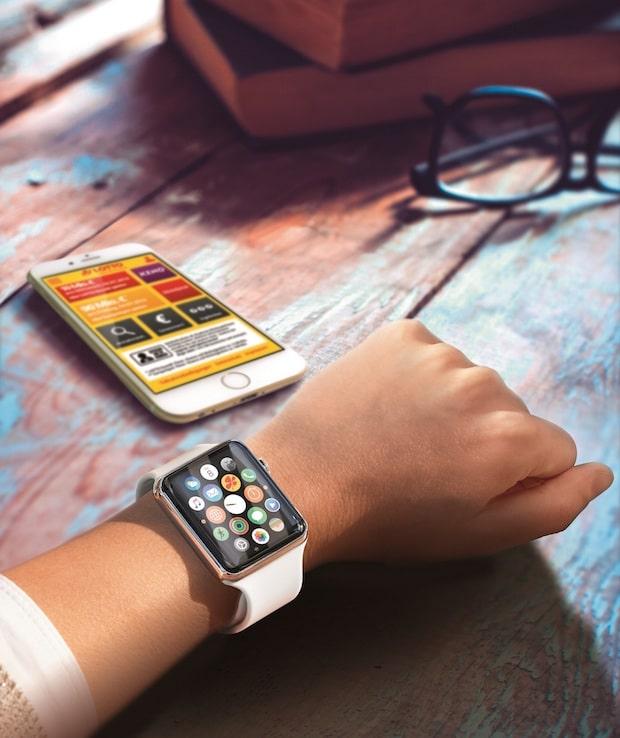 Bild von Lotto Baden-Württemberg bietet App mit Apple Watch-Funktionen
