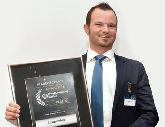Photo of Scopevisio gewinnt IT-Award 2015 in der Kategorie SaaS