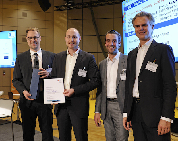 Photo of Business Angels Award an United Signals verliehen