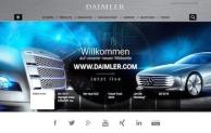 Die neue Daimler-Unternehmenswebseite