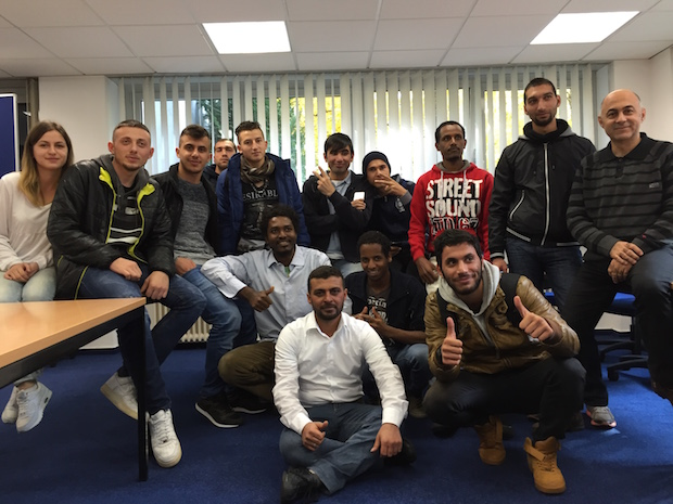 Bild von Kostenlose Deutschkurse für Flüchtlinge von WBS Training