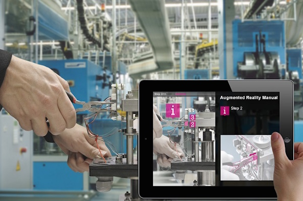 Bild von Fraunhofer überzeugt mit Augmented-Reality-Technologien