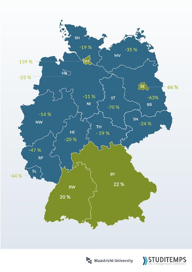 Photo of Abwanderung von Hochschulabsolventen in 12 Bundesländern