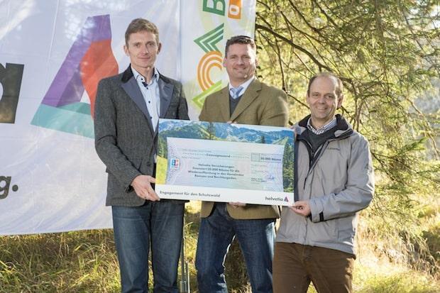 Photo of Helvetia Versicherung spendet 20.000 Bäume für die Bergwaldoffensive in Berchtesgaden und Ramsau