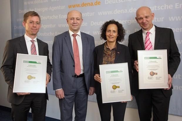 Photo of Aurubis mit Best-Practice-Label Energieeffizienz ausgezeichnet