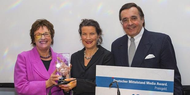 Bild von Mittelstand Media Award verliehen