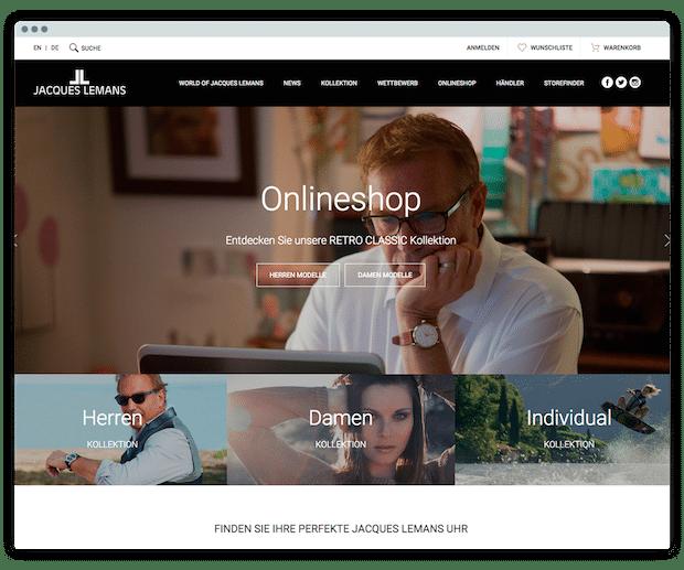 Photo of Uhrenhersteller JACQUES LEMANS eröffnet neuen Onlineshop