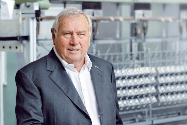Porträt von Geze Geschäftsführer Hermann Alber - Quelle: GEZE GmbH