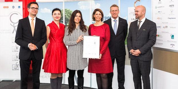 Bild von Santander Consumer Bank mit Corporate Health Award ausgezeichnet