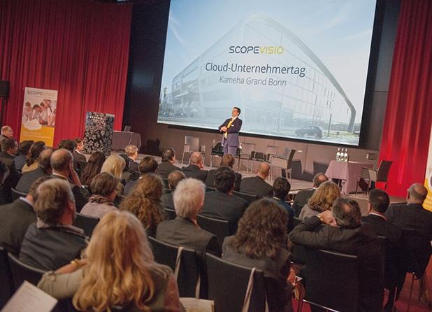 Photo of Cloud Unternehmertag 2016 in Bonn