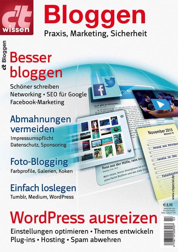 Photo of c't wissen: Sonderheft zum Thema Bloggen