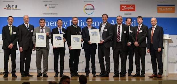 Photo of dena verleiht Energy Efficiency Award an Lidl, Bauer, InfraLeuna und  Bharat