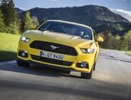 Der neue Ford Mustang: Bereits mehr als 10.000 Bestellungen in Europa, davon knapp 4.000 in Deutschland
