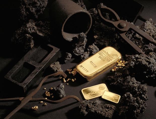 Bild von Gold aus nachhaltigen Quellen schont Mensch und Umwelt