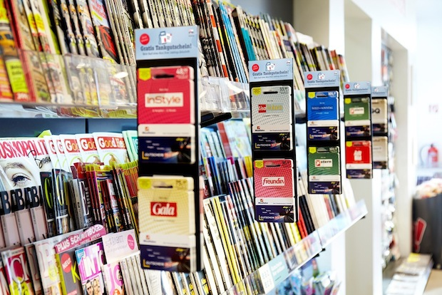 Bild von BurdaDirect startet Zeitschriftenvertrieb in Tankstellen