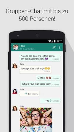 """SOMA Messenger präsentiert Video- und Sprach-Telefonie für Gruppennutzung. Quelle: """"obs/Instanza Inc."""""""