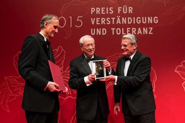 Bild von Der »Preis für Verständigung und Toleranz« geht dieses Jahr an Gründungsdirektor W. Michael Blumenthal