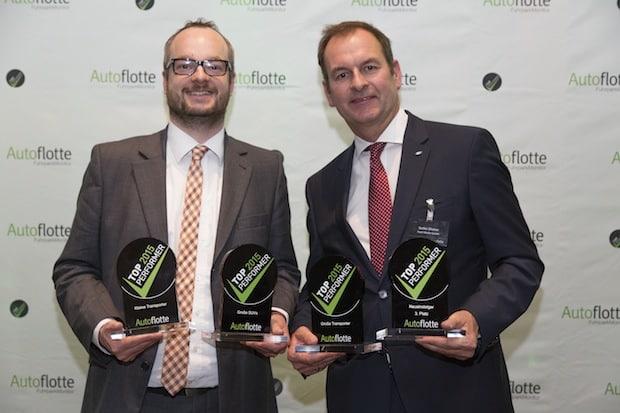 """Photo of Ford gewinnt vier Trophäen beim """"TopPerformer 2015""""-Award des Fachmagazins """"Autoflotte"""""""
