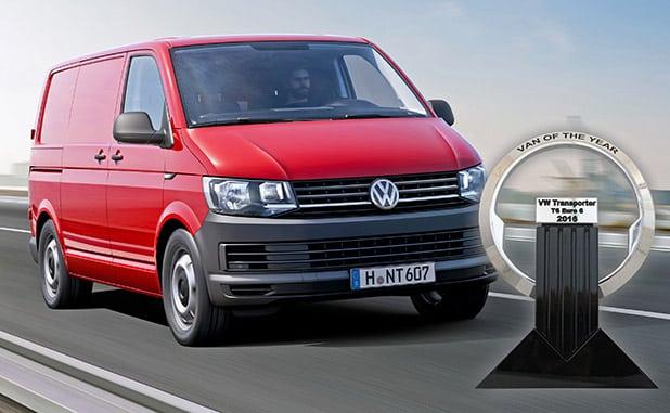 Photo of Volkswagen Nutzfahrzeuge: Der Transporter ist International Van of the Year
