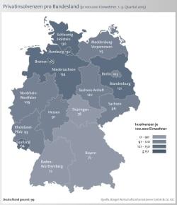 """Quellenangabe: """"obs/BÜRGEL Wirtschaftsinformationen GmbH & Co. KG"""""""
