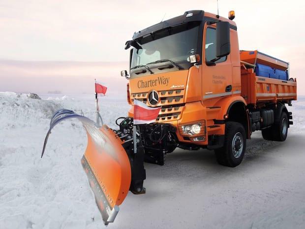 Photo of CharterWay Winterdienstfahrzeuge für den kurzfristigen Bedarf