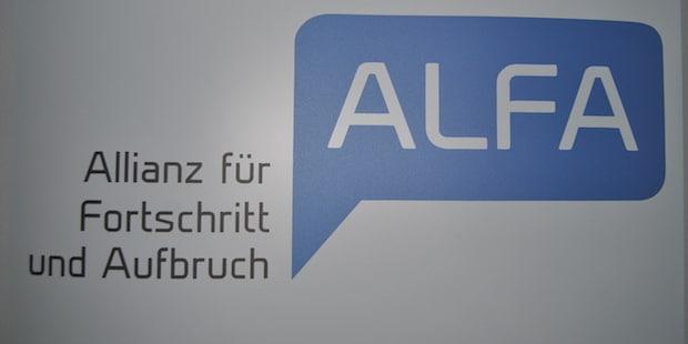 Bild von AfD ausgeschlossen, EKR-Fraktion setzt auf ALFA