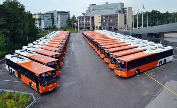 Bild von Proventia liefert NOX-Emissionskontrollsysteme für Busse in Helsinki