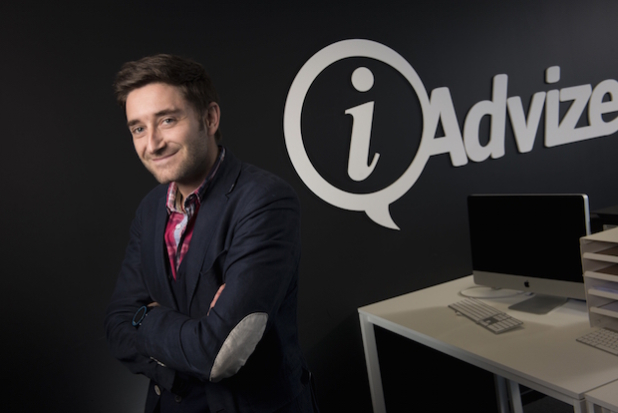Julien Hervouët, CEO von iAdvize - Quelle: iAdvize // Copyright © 2015 Agentur Frau Wenk +++ e.K.