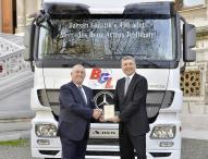 450 Mercedes-Benz Actros verstärken die Flotte von Barsan Global Logistics