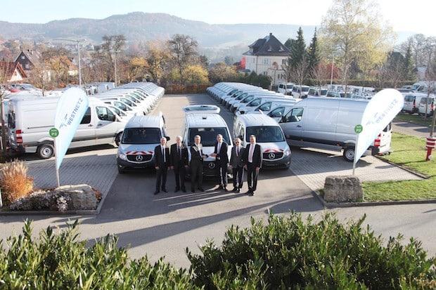 Bild von RWE-Tochter Westnetz übernimmt mehr als 100 Mercedes-Benz Transporter