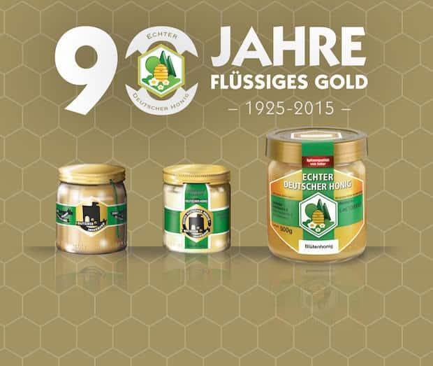 Bild von 90 Jahre Flüssiges Gold