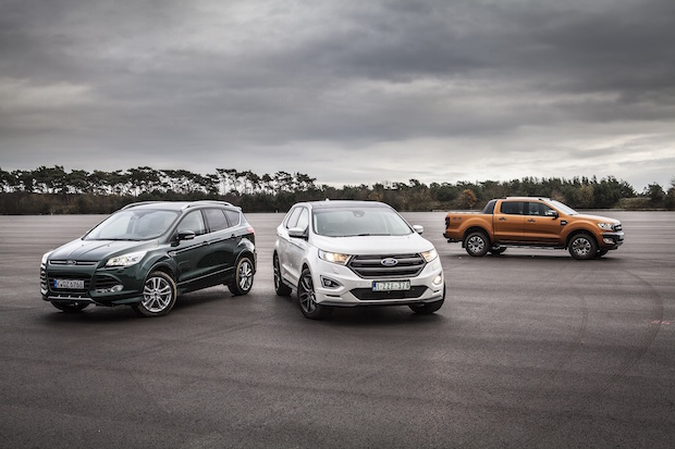 Bild von Ford will Allrad-Verkaufsanteil in Europa verdoppeln und SUV-Absatz verdreifachen
