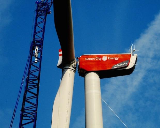 Bild von Green City Energy veräußert Windpark Velburg an Spezial-AIF