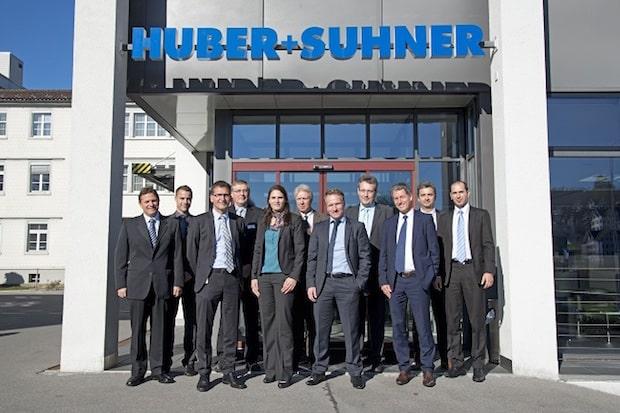 Bild von Rohde & Schwarz intensiviert seine Zusammenarbeit mit HUBER+SUHNER