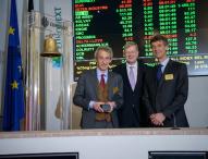 Zetes feiert 10-jähriges Börsenjubiläum