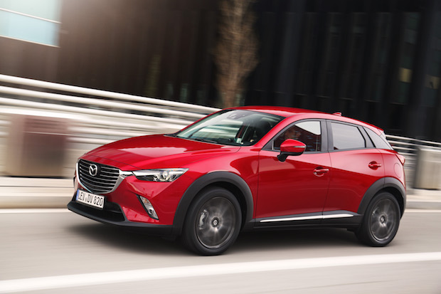 Bild von Mazda CX-3 auch in der Realität sparsam