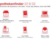 Apothekenfinder 22 8 33 jetzt mit verbesserter App und auch auf Englisch