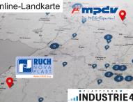 MES HYDRA auf der Online-Landkarte Industrie 4.0