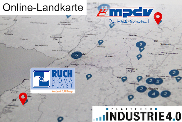 Photo of MES HYDRA auf der Online-Landkarte Industrie 4.0