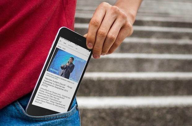 Bild von Neue Presseportal App jetzt mit individueller Startseite