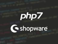 Eines der ersten Shopsysteme mit dem gestern erschienenen PHP 7